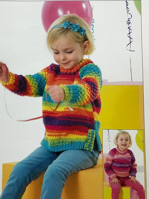 James C Brett - Party Time Chunky - Childrens Pattern JB340