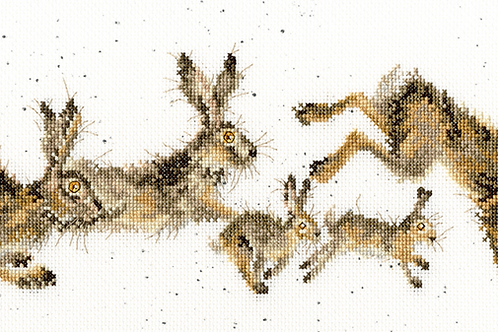 Bothy Threads Spring In Your Step -  Cross Stitch Kit