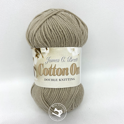 James C Brett Cotton On DK 50g Beige C03