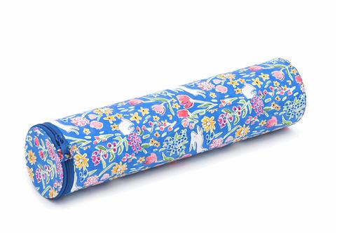 Knitting Pin/Needle Case: Tube: Garden Blueberry
