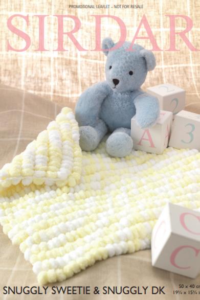 Sirdar Sweetie blanket
