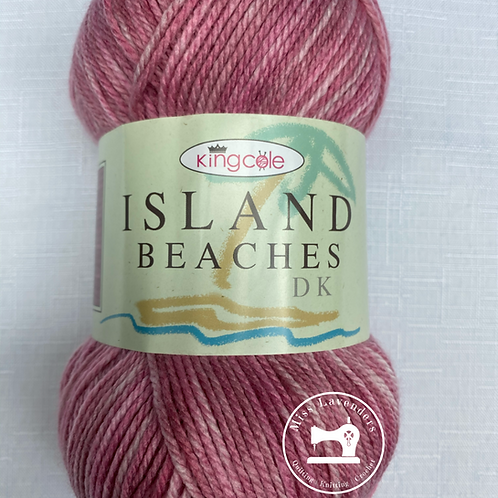 King Cole Island Beaches DK (100g) - Pink Coral 4527