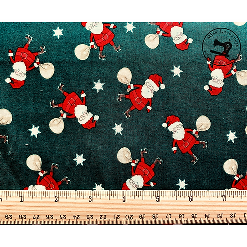 Christmas Santa Cotton Fabric