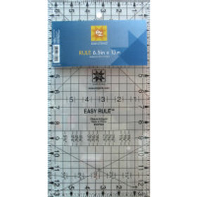 Q34 Simplicity EZ Quilting Ruler 6 1/2 inch x 13 inch
