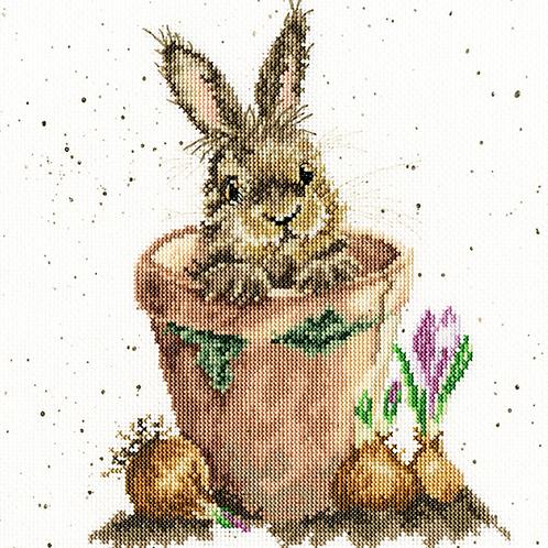 Bothy Threads Cross Stitch Kit - The Flower Pot