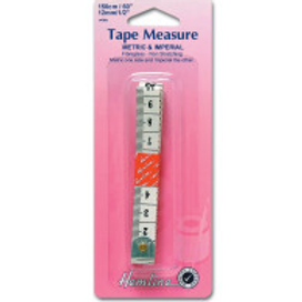 Hemline Tape Measure: Metric/Imperial - 150cm
