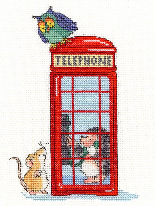 Cross Stitch Kit London Calling