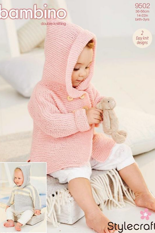 Stylecraft Bambino DK - Baby Coats  -  9502