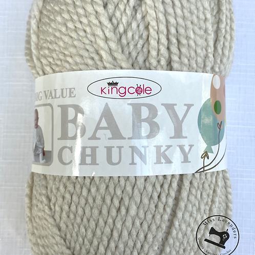 King Cole Big Value Baby Chunky Beige