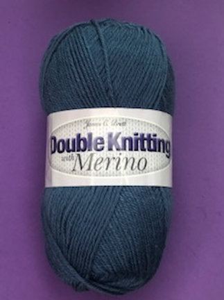 James C Brett DK with Merino - Blue DM8
