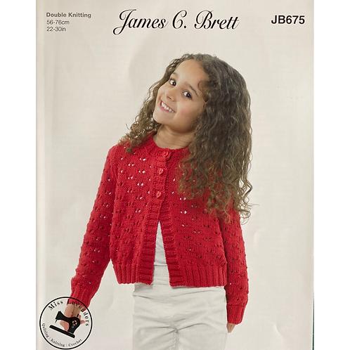 James C Brett Childrens Pattern DK JB675