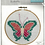 Thumbnail: Beginners/Children's Cross Stitch Kit - Butterfly