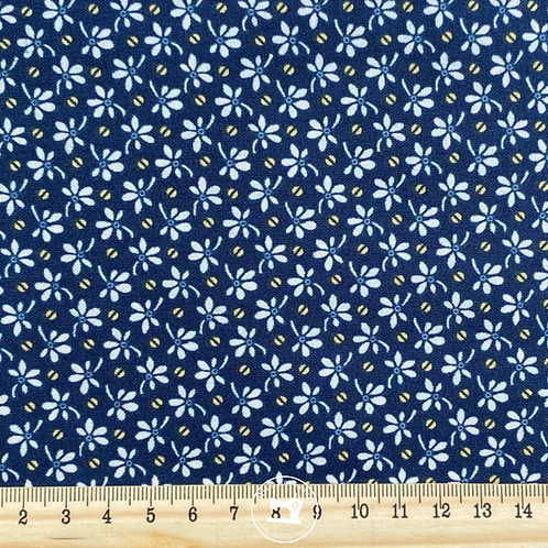 ANNABELLA - FLOWERS AND BEANS BLUE 9723B