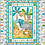 Thumbnail: Jungle Senic Panel Fabric - Childrens Quilt