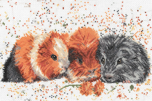 Bree Merryn Counted Cross Stitch Kit - Snap, Crackle and Pop - BMCS16