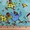 Thumbnail: Farm Fun Chicken Print Fabric - 100% Cotton