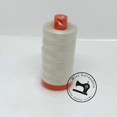 Aurifil 50/2 Quilters Cotton Thread  2309 Cream
