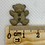 Thumbnail: Teddy Button - Brown 15mm