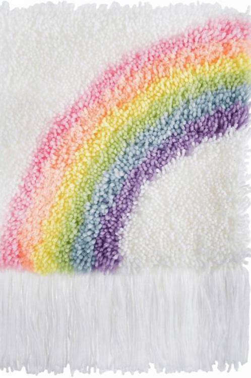 Trimits Pastel Rainbow Latch Hook Kit