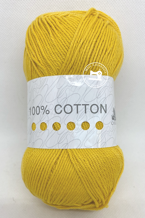 Cygnet 100% Cotton Double Knit  100g - Golden 3184