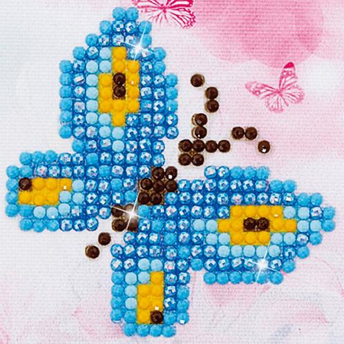 Diamond Dotz Starter Kit - Butterfly Sparkle