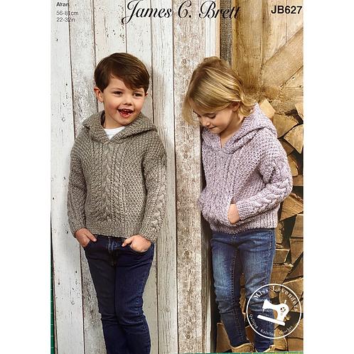 James C Brett Childrens Aran JB627