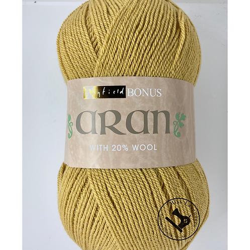 Sirdar Hayfield Bonus Aran with wool 400g - Maize 0692