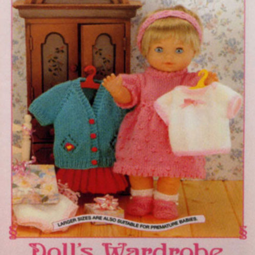Dolls Wardrobe - Outfits for Dolls and Premature Babies AK11