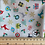 Thumbnail: Christmas fat Qtr Bundle Makower  - 4 Fat Quarters