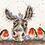 Thumbnail: Cross Stitch Kit Christmas Donkey
