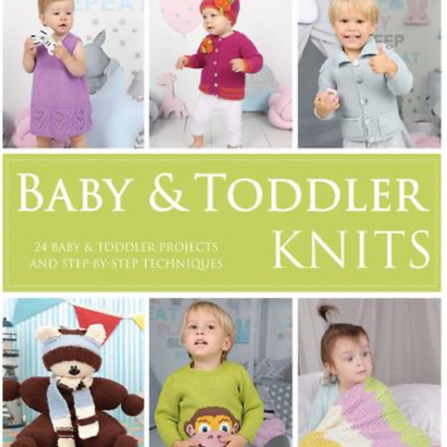 Baby and Toddler Knits Book by Maker Co - 24 Project