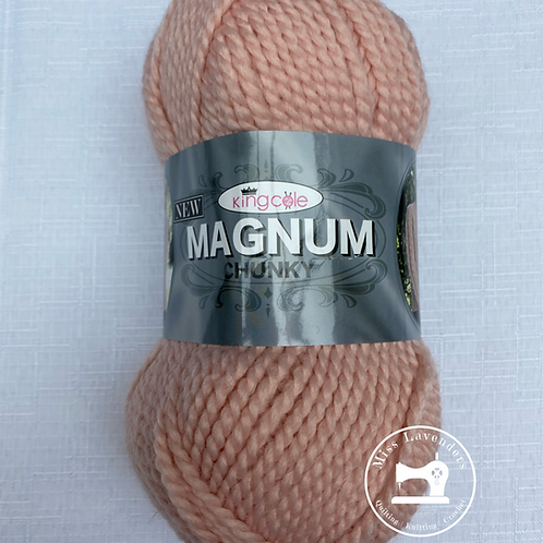King Cole Magnum Chunky with 25% Wool - Shell Pale Pink 3278