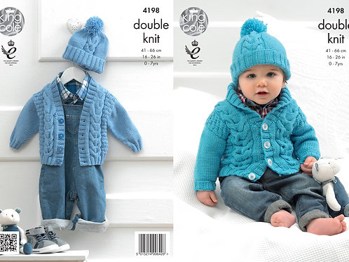 King Cole 4198 Babies DK