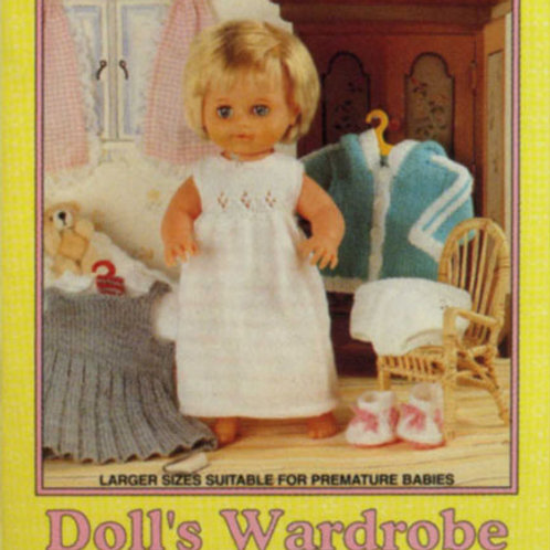 Dolls Wardrobe Part 2 - Outfits for Dolls and Premature Babies AK18