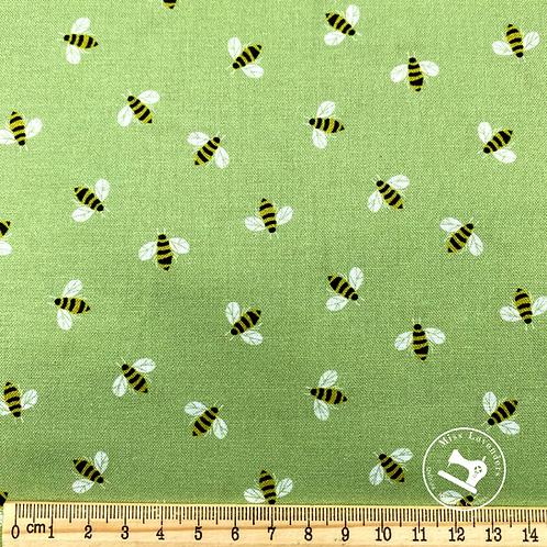 Wildflower Honey - Bees  Fabric