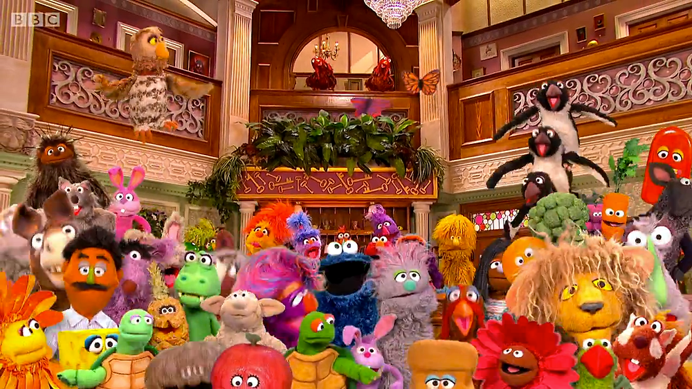 The cast of The Furchester Hotel!