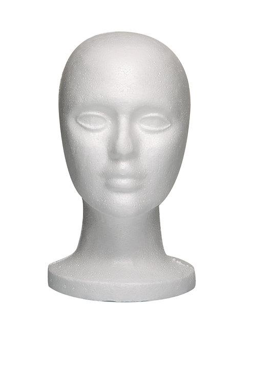 "Styrofoam Head 10.5"""
