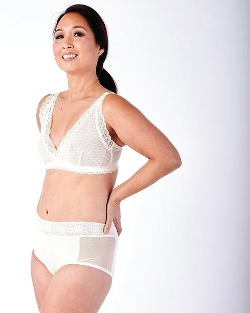 Susan Wrap Front Lace Bra