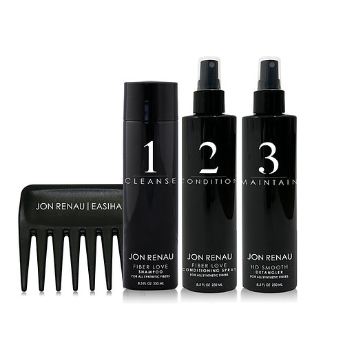 Synthetic Hair Care Kit