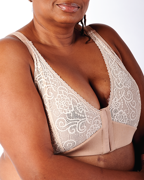 Jamielee Lace Cup Front Closure Bra