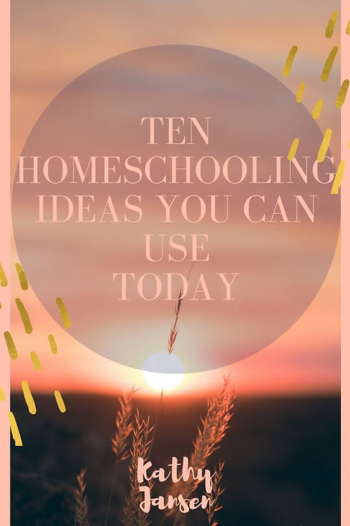 10 Ideas For Your Homeschooling Day