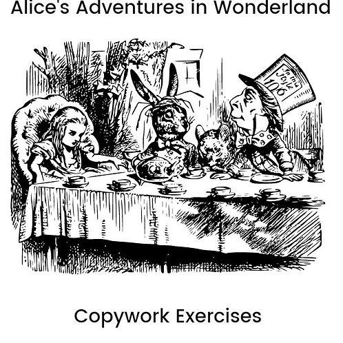 Copywork - Alice's Adventures in Wonderland