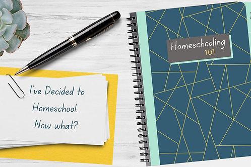 Webinar - Homeschooling 101