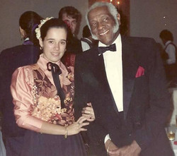 With Pedro Knight 1989