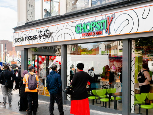 CHOPSTIX LEICESTER IS NOW OPEN!