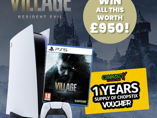 WIN A PLAYSTATION 5 THIS MONTH THANKS TO RESIDENT EVIL VILLAGE!