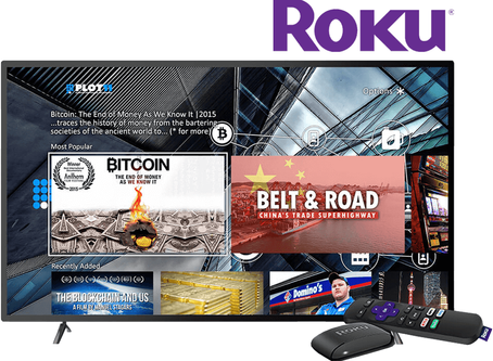 Plot11: Economy & Finance Infotainment launches on Roku