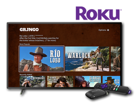 Grjngo - Western Movies launches on Roku