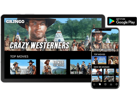AVOD Western Channel Grjngo is now available on Google Play