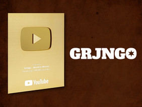 Grjngo - Western Movies achieved 1M subscribers on YouTube